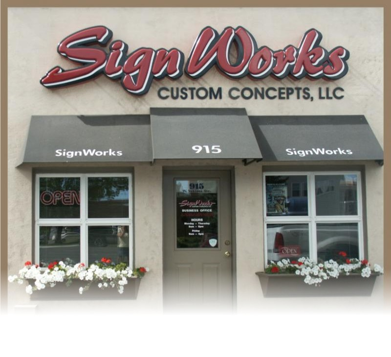 Sign Works Custom Concepts Home